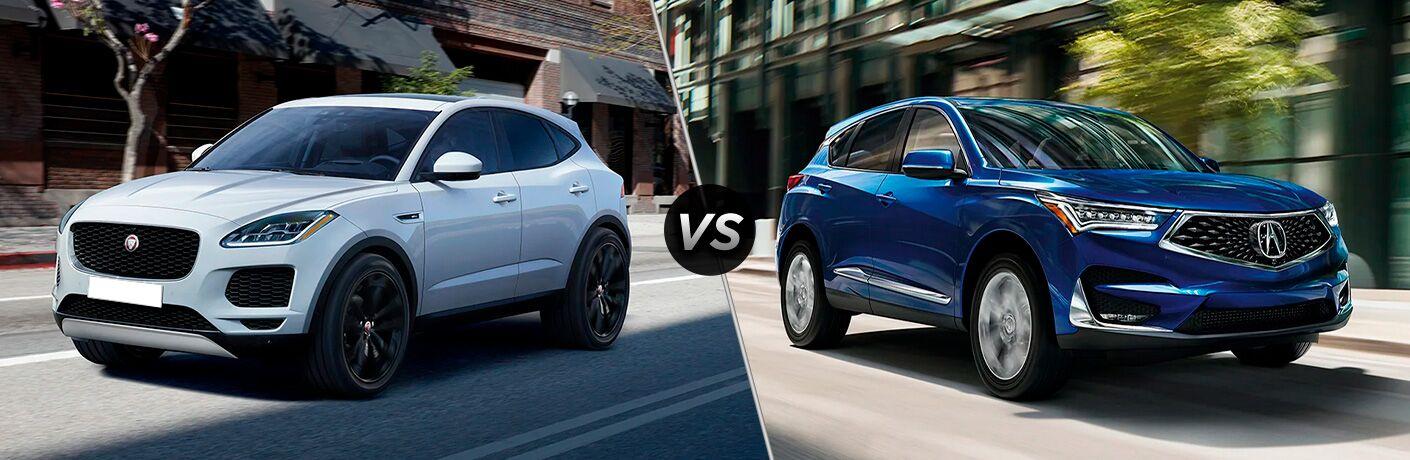 2021 Jaguar E-PACE vs 2021 Acura RDX