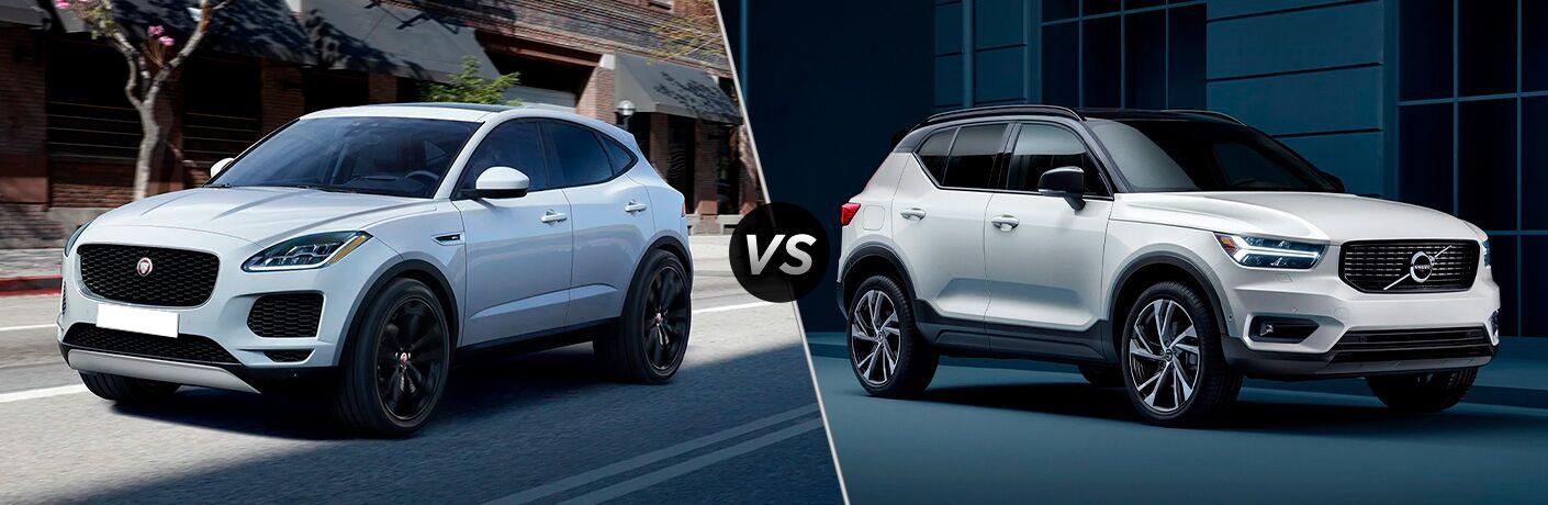 2021 Jaguar E-PACE vs 2021 Volvo XC40