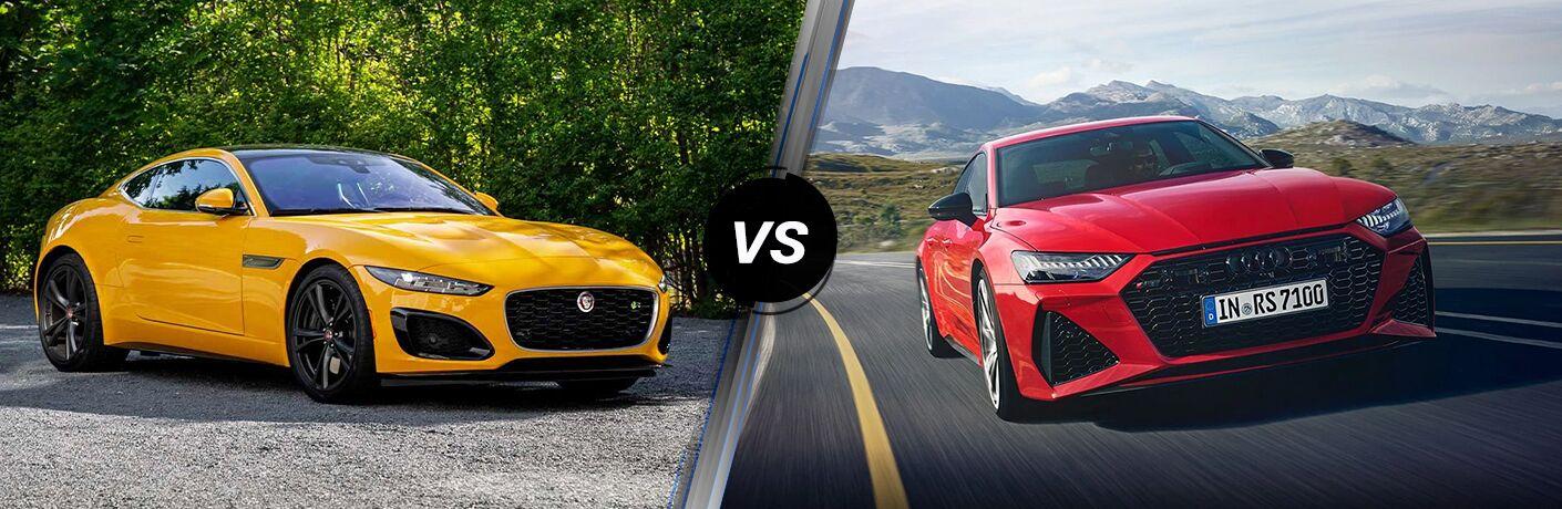2021 Jaguar VS 2021 Audi RS7