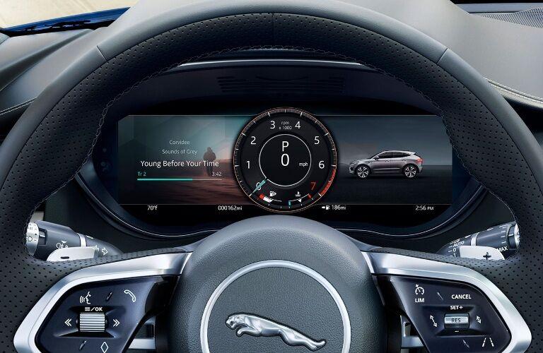 2021 Jaguar E-PACE multi-information display