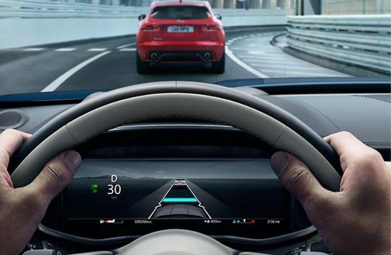 2021 Jaguar F-PACE  steering