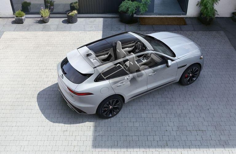2021 Jaguar F-PACE rooftop