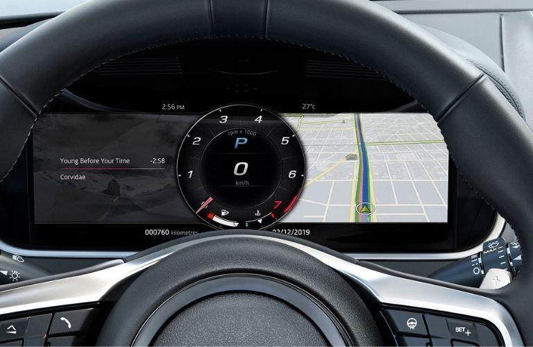 2021 Jaguar F-TYPE steering