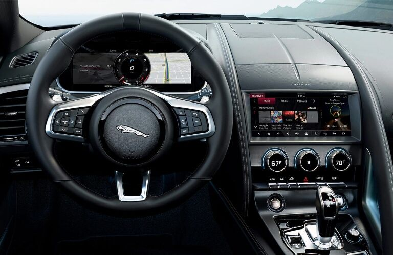 Behind the wheel of a 2021 Jaguar F-TYPE