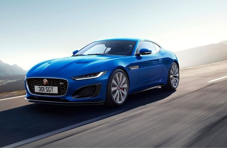 2021 Jaguar F-TYPE on road