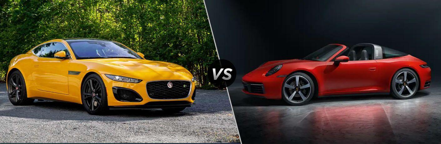 2021 Jaguar F-TYPE vs 2021 Porsche 911