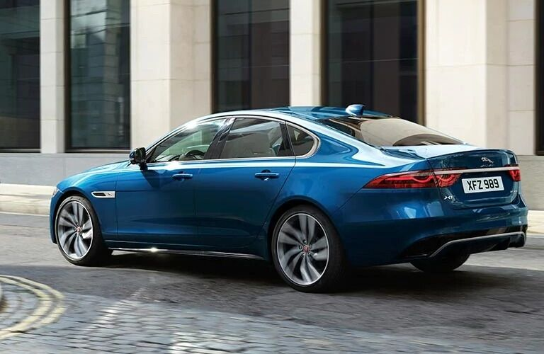 2021 Jaguar XF back end