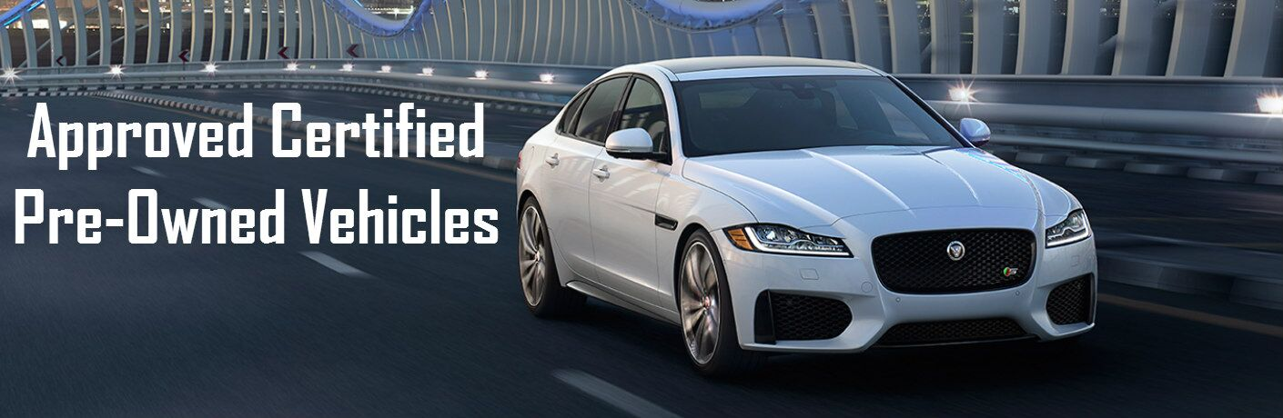 Approved Certified Pre-Owned Vehicles at Jaguar Boerne
