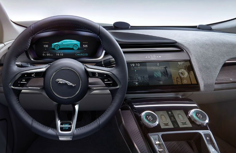 Jaguar I-PACE Steering Wheel and Dashboard