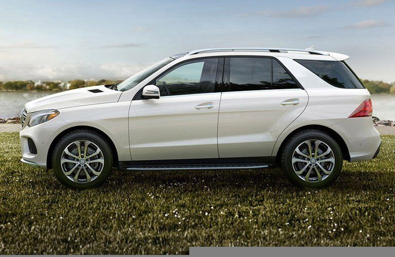 2016 Mercedes-Benz GLE sideview