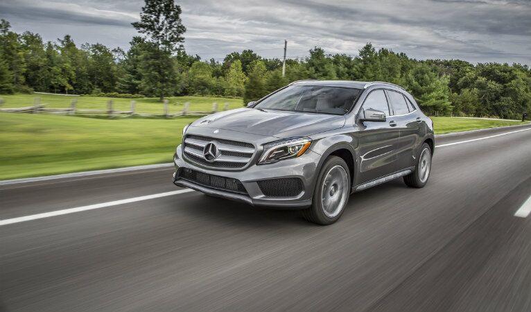 Mercedes-Benz GLA vs