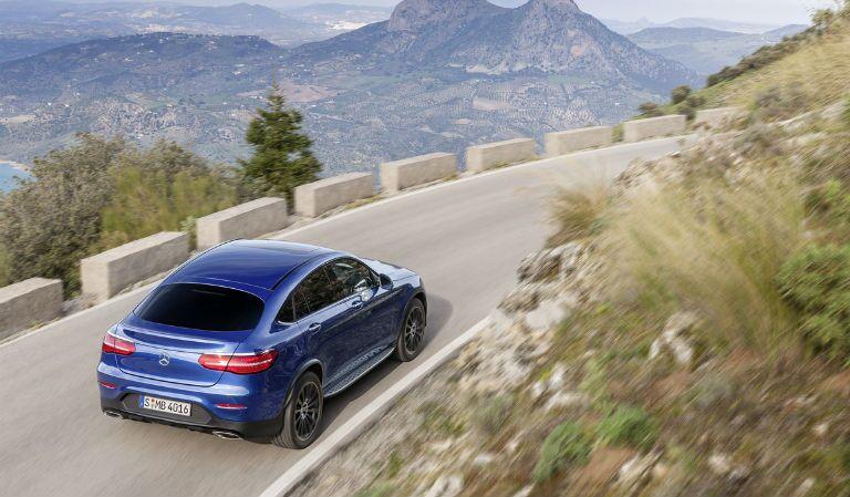 Mercedes-Benz GLC Coupe vs