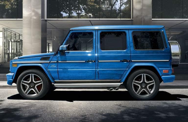 Mercedes-Benz G-Class in Blue