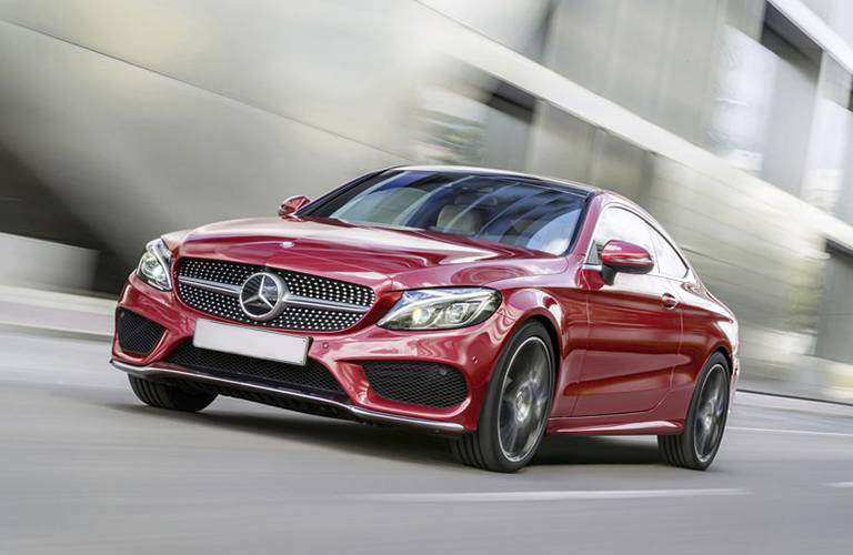 2017 C-Class Coupe Front Grille