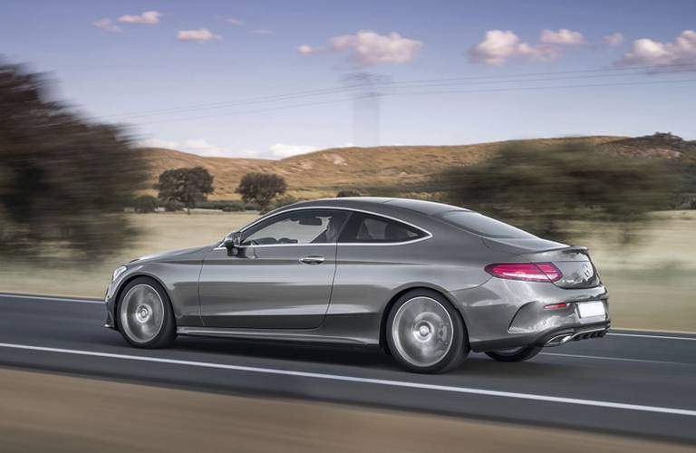 2017 C-Class Coupe in Silver