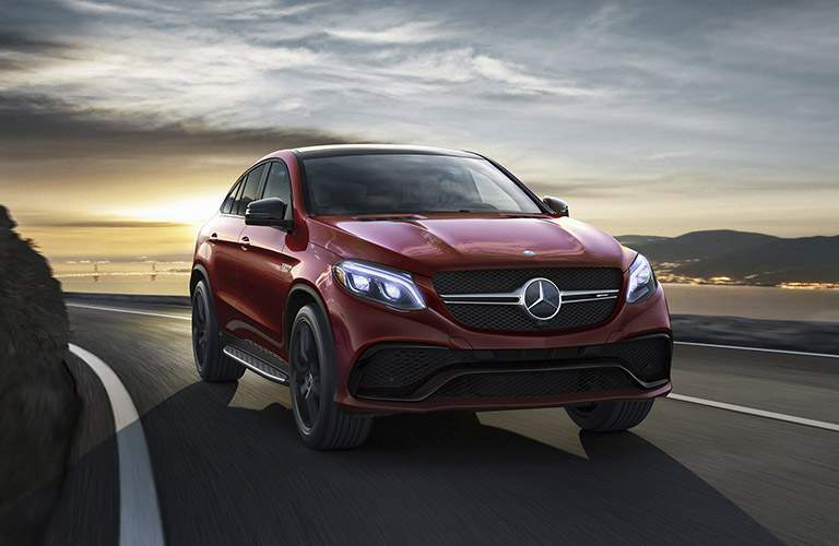 Mercedes-Benz GLE Coupe in Red