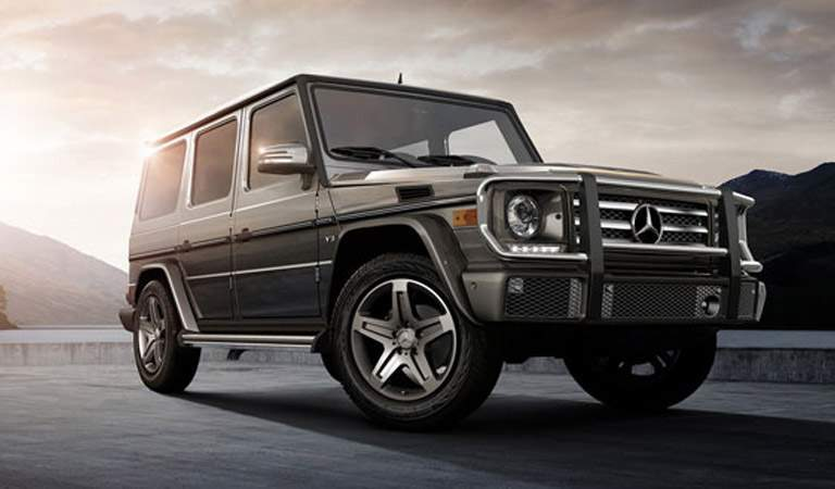2017 Mercedes-Benz G-Class in Black