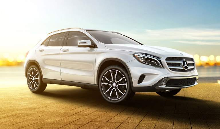 2017 Mercedes-Benz GLA in White