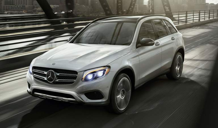 2017 Mercedes-Benz GLC in Silver