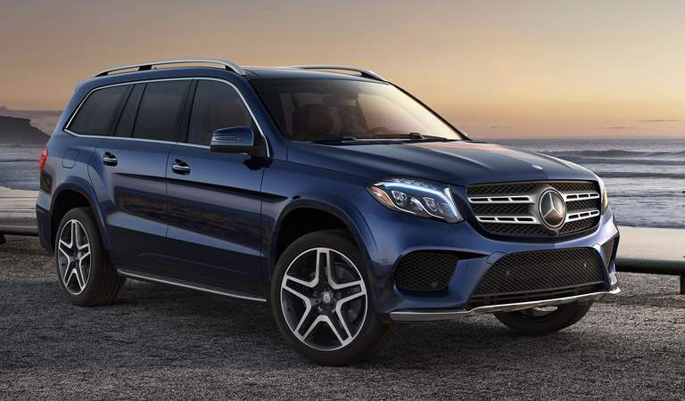 2017 Mercedes-Benz GLS in Blue
