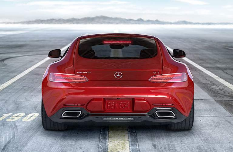 AMG GT in Red