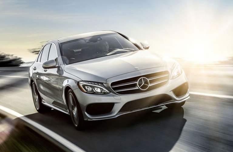 2017 Mercedes-Benz C-Class in Silver