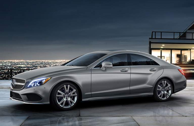 2017 Mercedes-Benz CLS Coupe in Silver