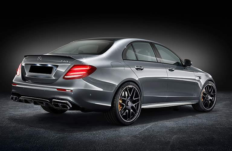 2018 Mercedes-Benz AMG E63 Sedan athletic stance