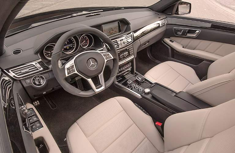 2018 Mercedes-Benz AMG E63 Sedan dashboard