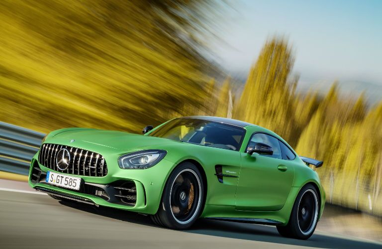 2018 AMG GT R in Green