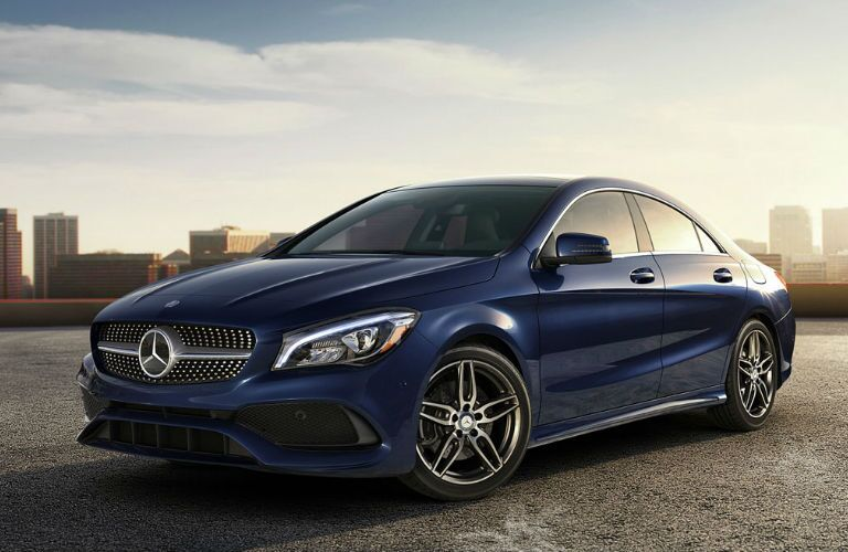 2018 CLA Coupe in Blue