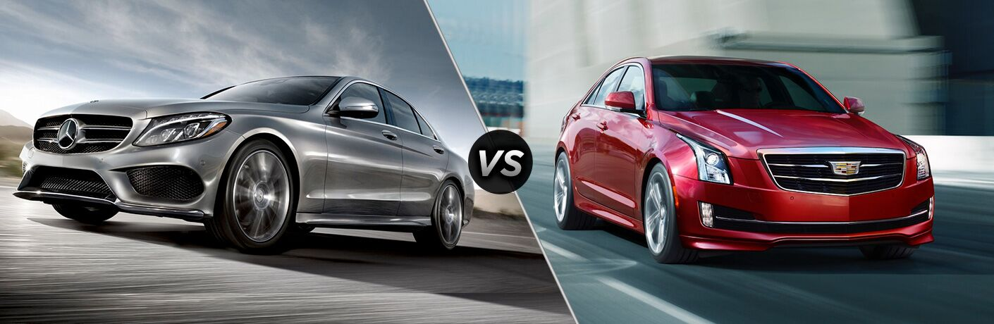 2018 Mercedes Benz C Class Sedan Vs 2018 Cadillac Ats Sedan