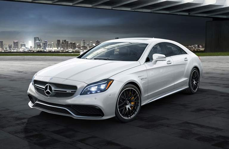 2018 CLS Coupe in White