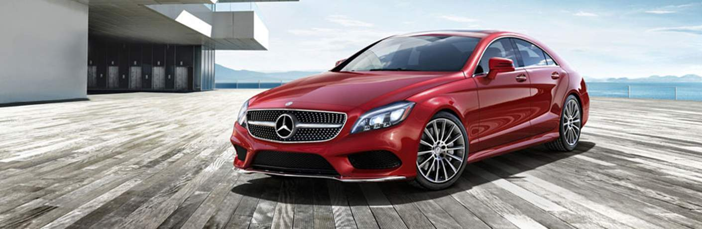 2018 CLS Coupe in Red