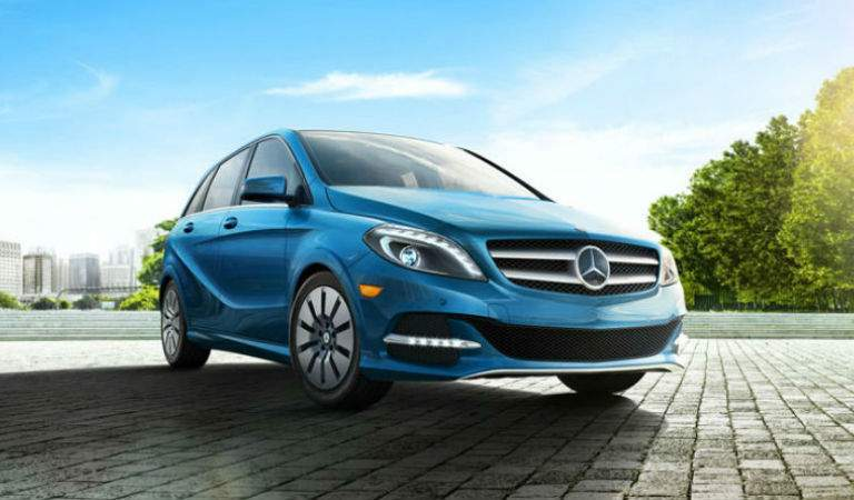 2017 Mercedes-Benz B-Class in Blue