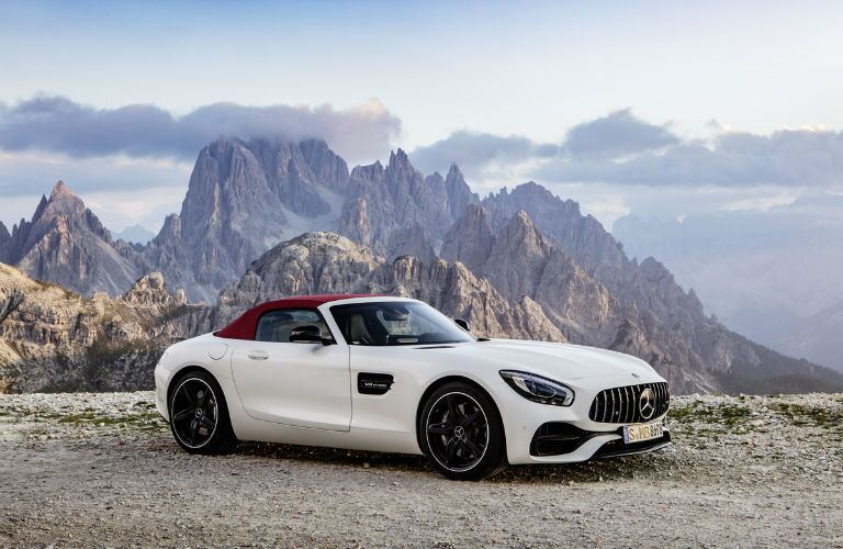 AMG GT Roadster in White