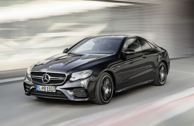 2019 E-Class Coupe front fascia and drivers side