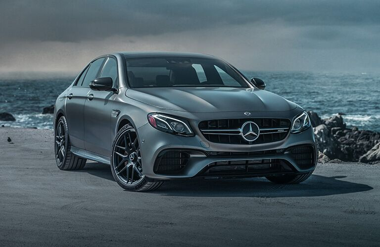 2019 MB AMG E 63 S exterior front fascia and passenger side