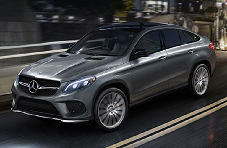 2019 MB GLE Coupe exterior front fascia and drivers side