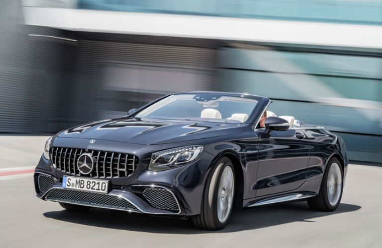 2018 S-Class Cabriolet front fascia and drivers side