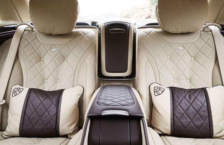 2018 Maybach Backseat