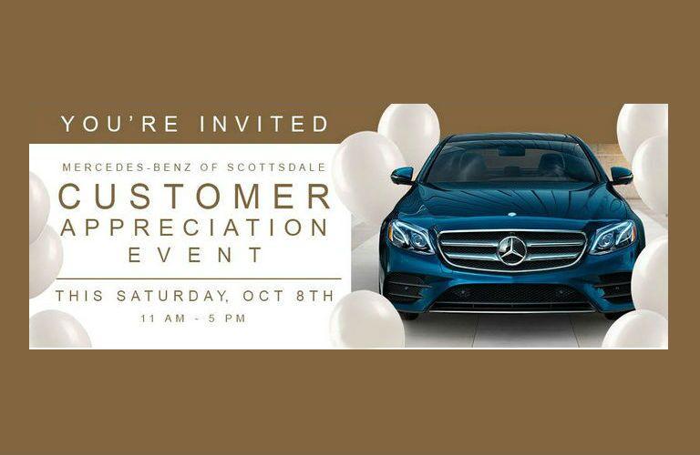 Mercedes-Benz of Scottsdale Customer Appreciation Event