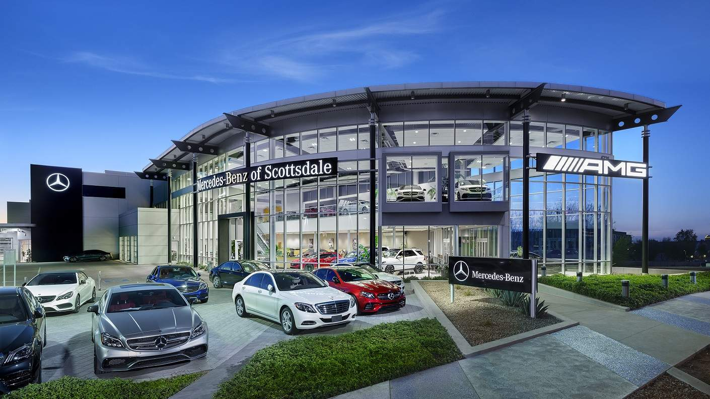 About mercedes benz of scottsdale a scottsdale az dealership for Mercedes benz dealers in michigan