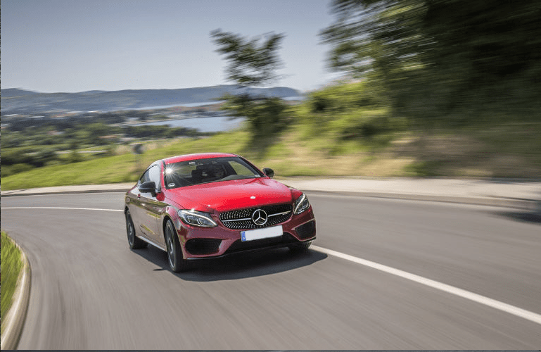 2017 Mercedes-Benz C-Class in Red