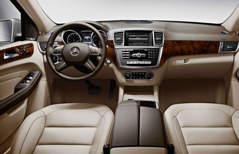 2014 Mercedes-Benz M-Class almond beige interior