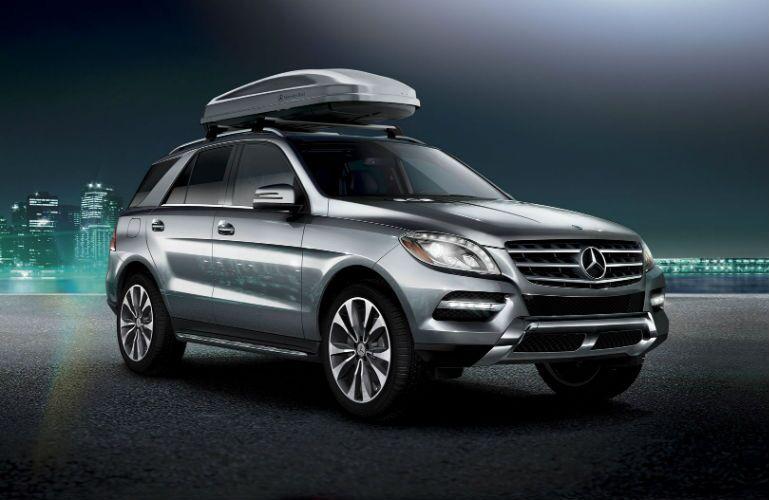 2014 Mercedes-Benz M-Class Iridium Silver Metallic Exterior