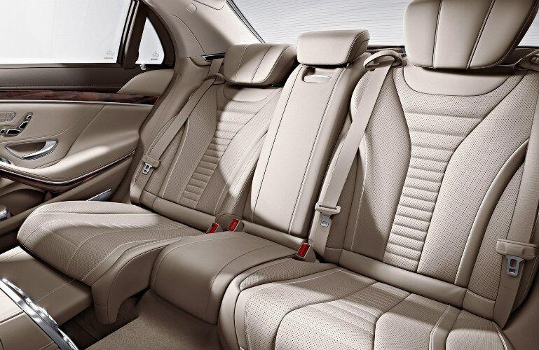 2017 Mercedes-AMG S63 Back Seats
