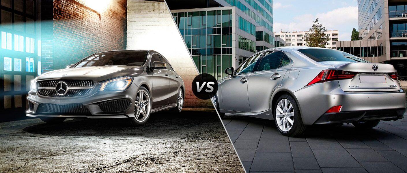 2017 Mercedes-Benz CLA vs 2017 Lexus IS