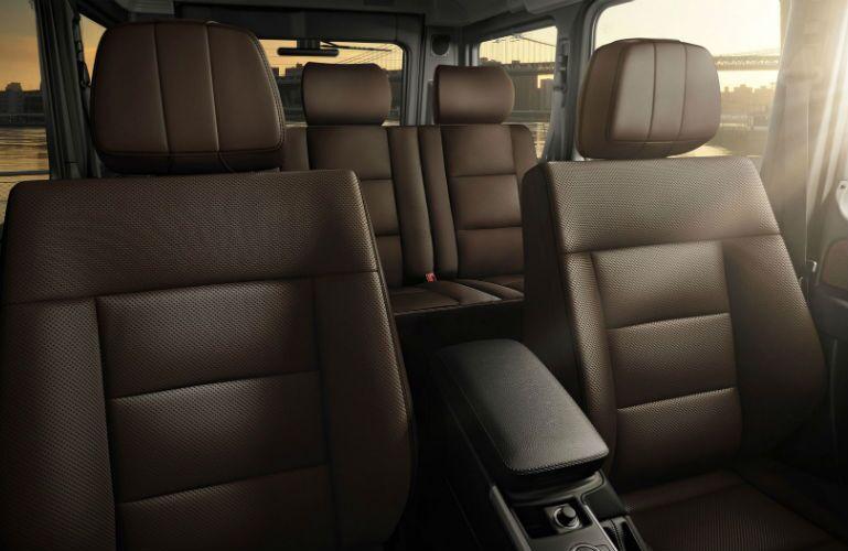 Mercedes-Benz G-Class Back Seat