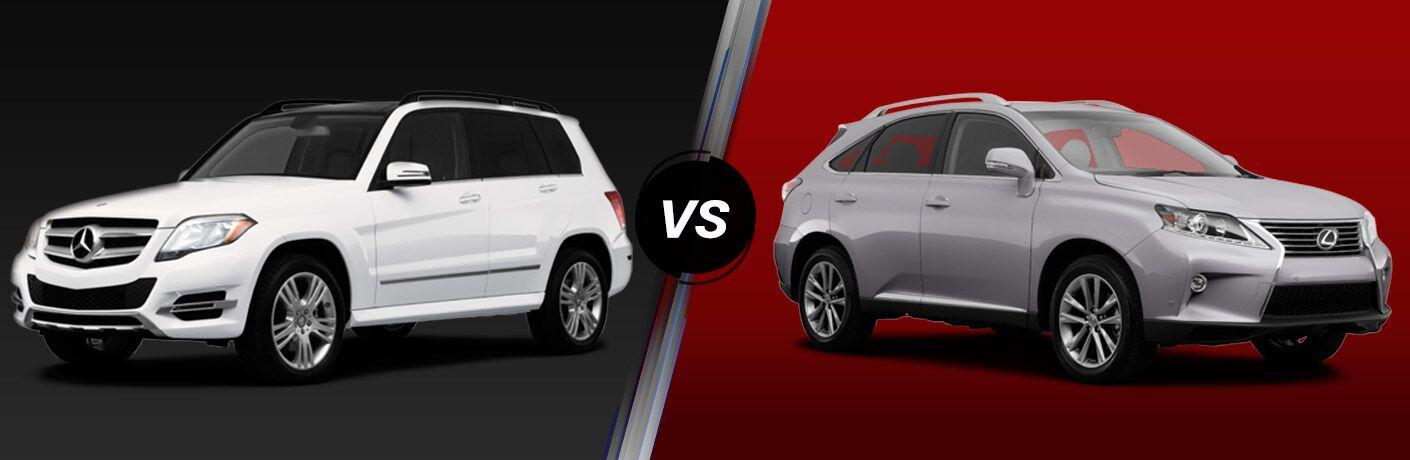 2015 Mercedes-Benz GLK vs 2015 Lexus RX